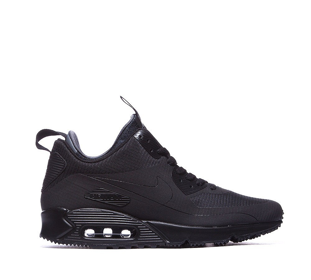 Nike Air Max 90 Mid Winter Homme Noir Style charmant - Nike Air Max 90 Mid Winter Homme Noir Style charmant-01-0