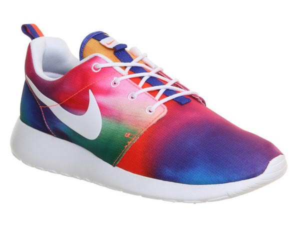 Nike Roshe One Court Pourpre Blanche Imprime Unisexe Couleurs incroyables - Nike Roshe One Court Pourpre Blanche Imprime Unisexe Couleurs incroyables-01-0