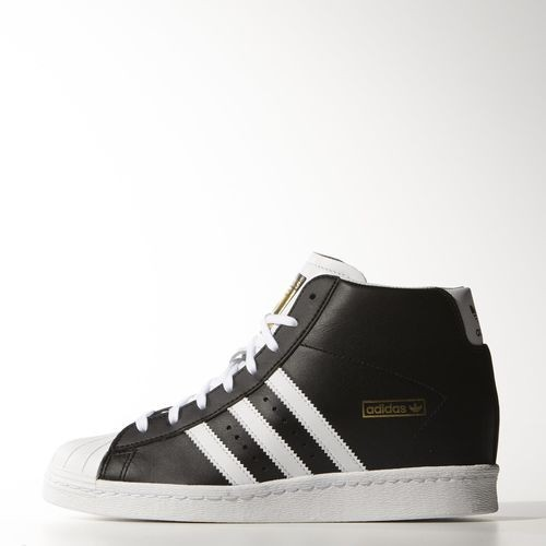 Adidas Originals Superstar Up Baskets Core Noir En Vogue  - Adidas Originals Superstar Up Baskets Core Noir En Vogue-01-0