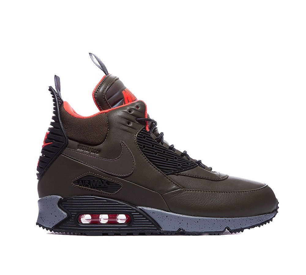 Nike Air Max 90boot Winter Homme Sombre Loden Couleurs incroyables - Nike Air Max 90boot Winter Homme Sombre Loden Couleurs incroyables-31