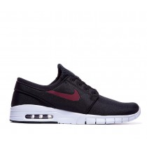 Nike Stefan Janoski Max Baskets Noir/Team Rouge/Blanche qualité absolue-20