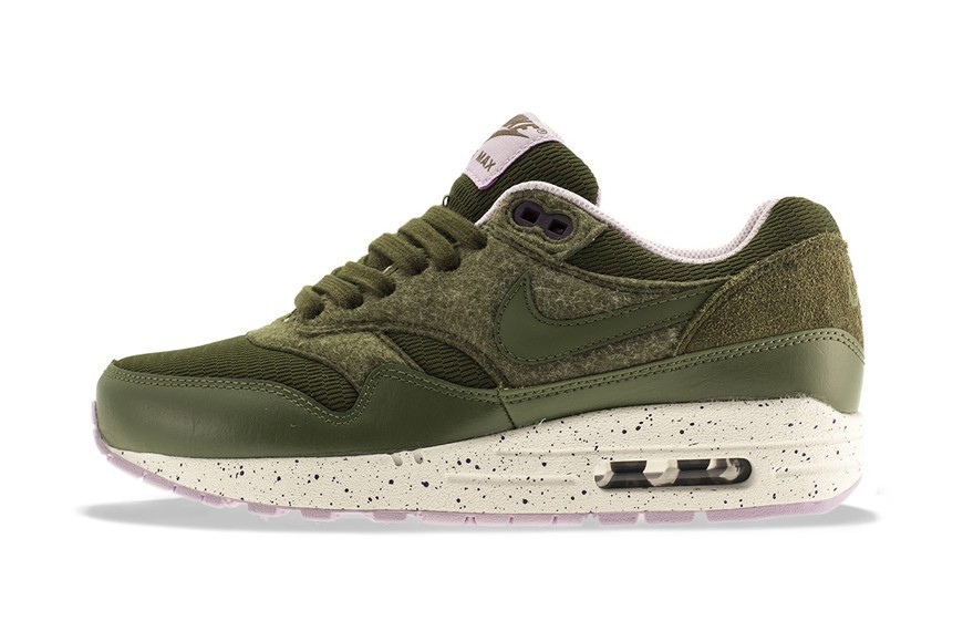 Nike Air Max 1 Femme Sombre Loden & Medium Olive Style supérieur  - Nike Air Max 1 Femme Sombre Loden & Medium Olive Style supérieur-01-0