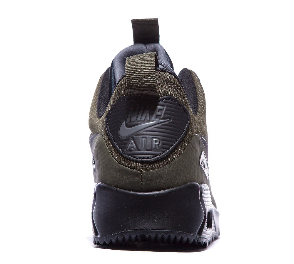 Nike Air Max 90 Mid Winter Homme Sombre Loden/Noir à Prix Raisonnable - Nike Air Max 90 Mid Winter Homme Sombre Loden/Noir à Prix Raisonnable-01-4