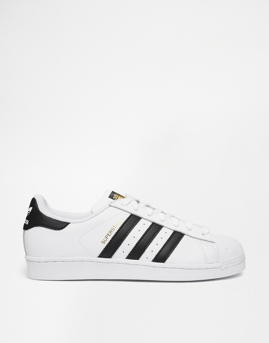 Adidas Originals Superstar c77124 Blanche Noir En Vogue  - Adidas Originals Superstar c77124 Blanche Noir En Vogue-01-1