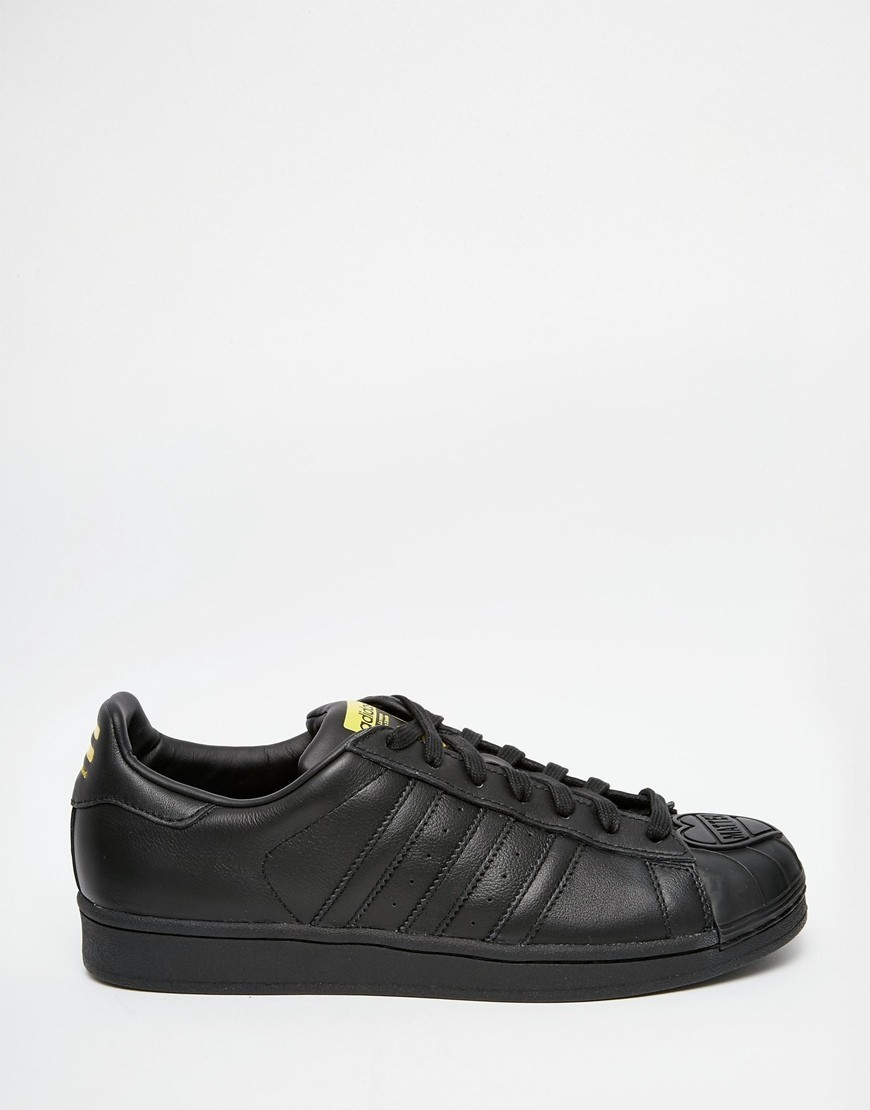 Adidas Originals Superstar x Pharrell s83345 Noir Privee à Prix d'Amis  - Adidas Originals Superstar x Pharrell s83345 Noir Privee à Prix d'Amis-01-1