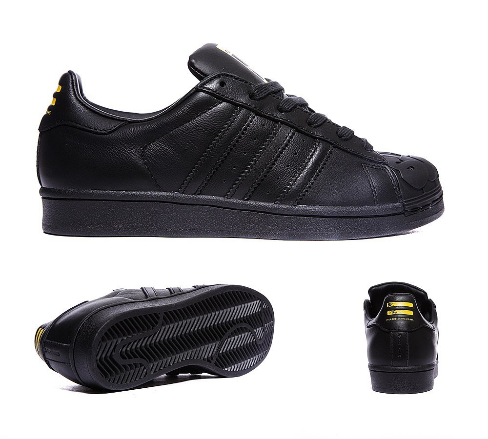 Adidas Originals Superstar Todd James Supershell Baskets Noir 2017 Nouvelle Collection  - Adidas Originals Superstar Todd James Supershell Baskets Noir 2017 Nouvelle Collection-01-1