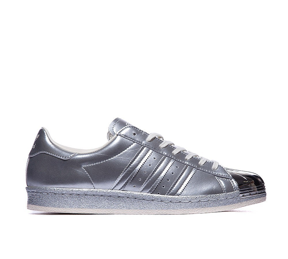 Adidas Originals Superstar 80s Metallic Baskets Argent Conception exceptionnelle - Adidas Originals Superstar 80s Metallic Baskets Argent Conception exceptionnelle-31
