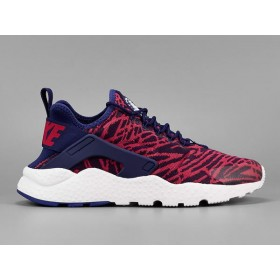 Nike w Air Huarache Run Ultra Jacquard Bleu Loyal/Université Rouge/Blanc 818061-400 Meilleure qualité